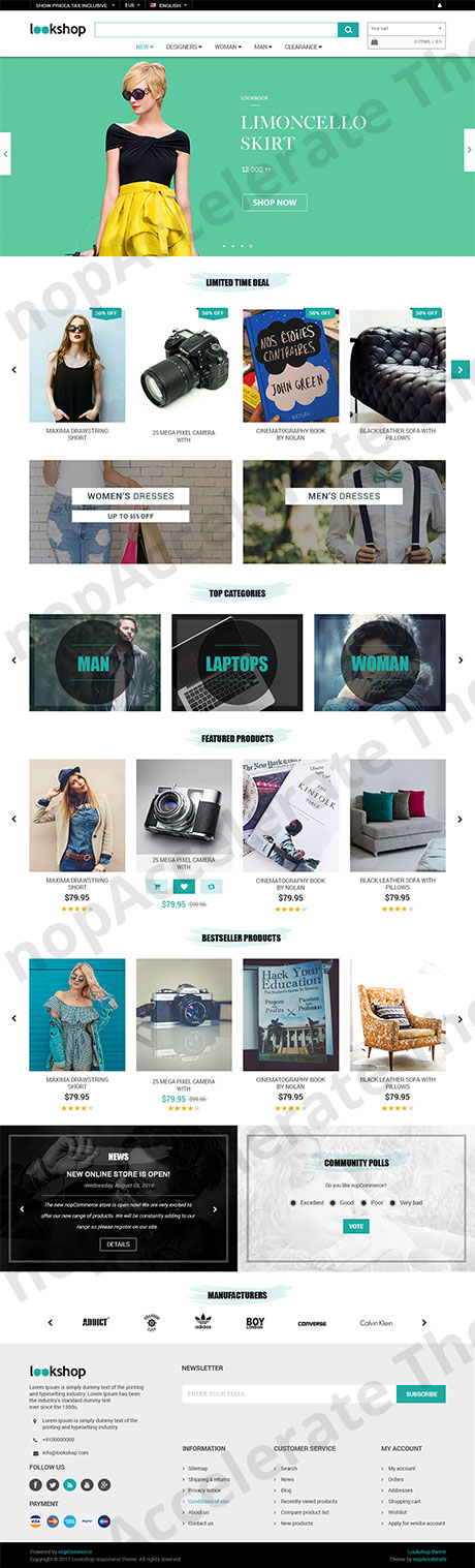 Lookshop Home Page