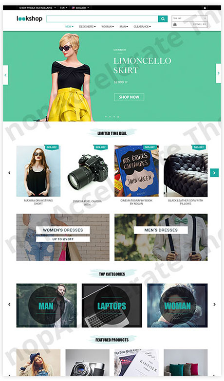 Lookshop Home Page